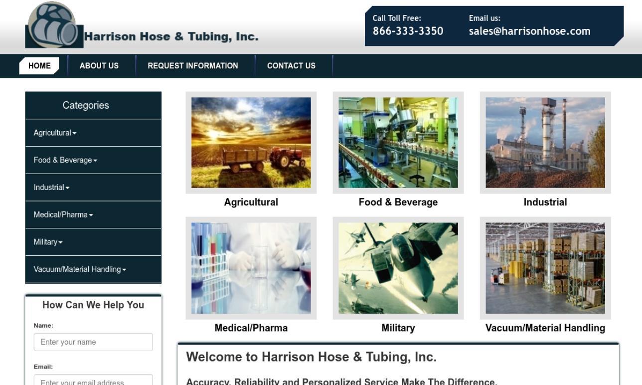 Harrison Hose & Tubing, Inc.