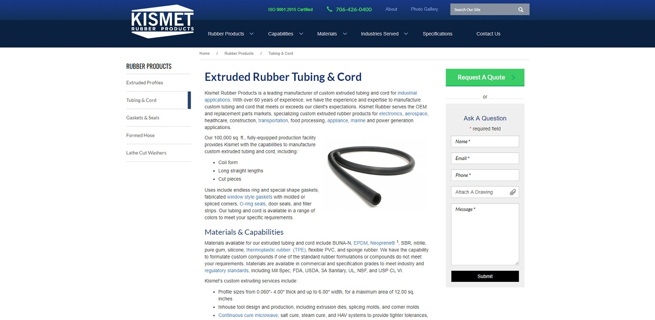 Kismet Rubber Products Corp.